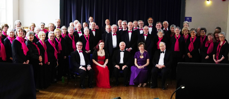 Carnforth Choral Society group photograph